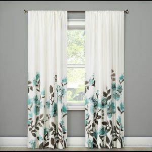 Threshold Climbing Floral Curtain Panel
